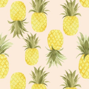 Blushing Sweet Pineapples