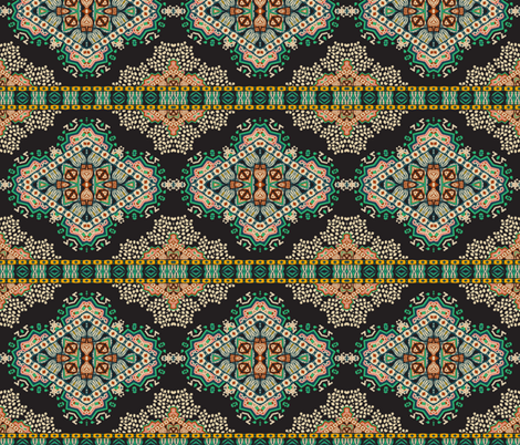 madamoiselle_chateau_deco fabric by holli_zollinger on Spoonflower - custom fabric