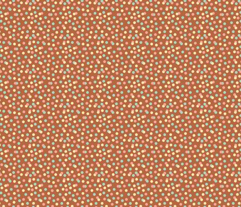 Chocolate Confetti fabric by klingercreative on Spoonflower - custom fabric