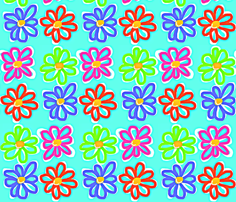 Happy Patch  fabric by franbail on Spoonflower - custom fabric