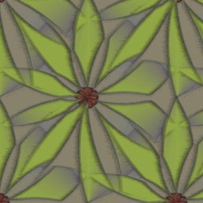 Quotidian Flower (Green)