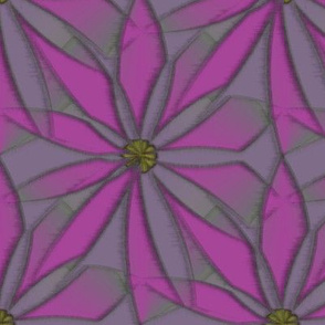 Quotidian Flower (Violet)