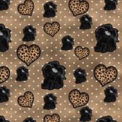 Shih Tzu - Leopard Hearts