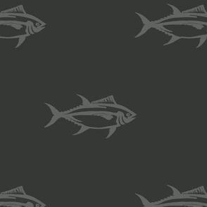 Swimming Bluefin Tuna
