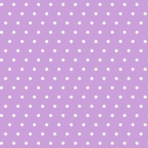 polka dot on purple -  mermaid coordinate