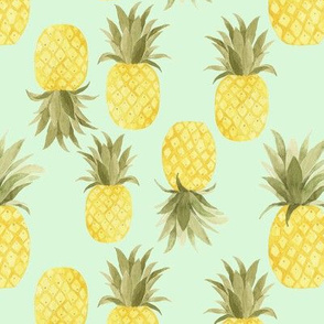Minty Sweet Pineapples
