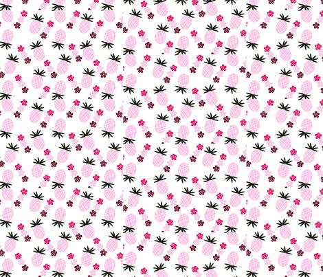 pineapple_paper fabric by xanderspaperie on Spoonflower - custom fabric