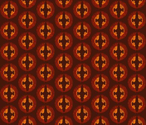 Firefly Polka Dot fabric by nerdfabrics on Spoonflower - custom fabric
