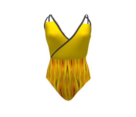 LS - Blazing Summer Sun  Solid Yellow
