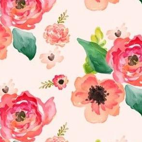 "5"" Floral Dreams / PINK"