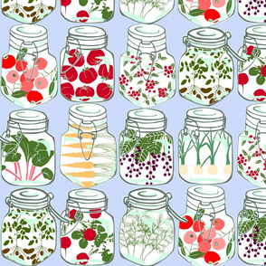 pint jar preserves