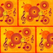 Musical Daze in Orange andPurple - MD26