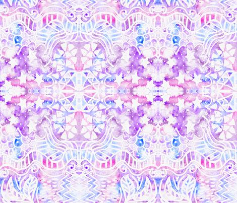Tribal Sky fabric by digitallove on Spoonflower - custom fabric