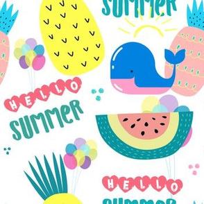 "7"" Hello Summer"