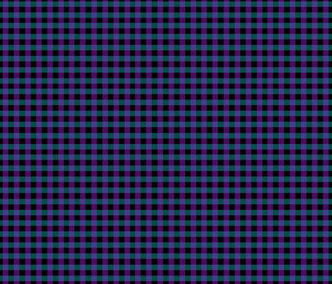 dark gingham fabric by redthanet on Spoonflower - custom fabric