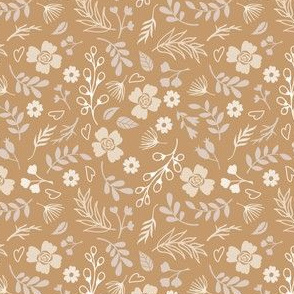 Timeless - Mini Floral, Brown