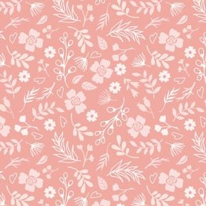 Timeless - Mini Floral, Pink