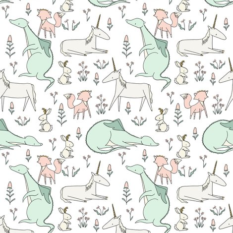 Renchantedcreatures8x10offsetpattern_shop_preview