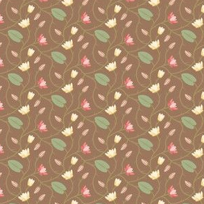 Timeless - Floral Vine, Brown