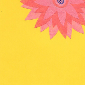 Mammoth Paper Dahlia