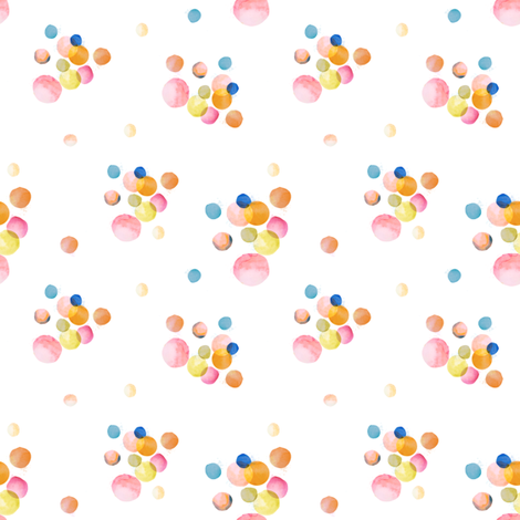 """4""""Boho Child's Play / MESSY Bubbles fabric by shopcabin on Spoonflower - custom fabric"""