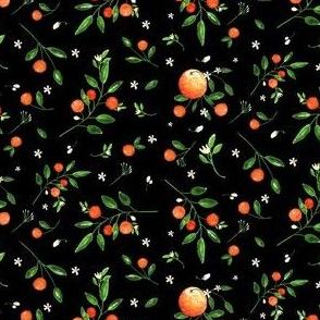 "4"" Summer Oranges  / Black"