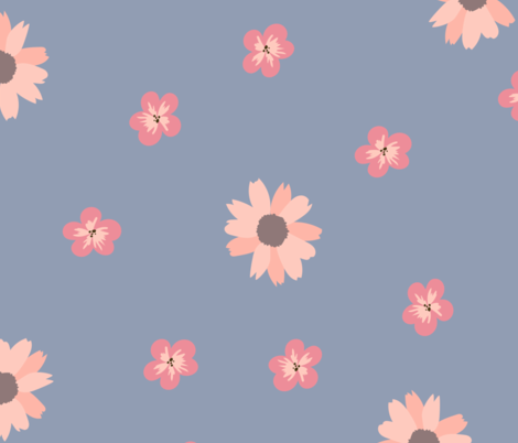 FLORAL fabric by mariholly on Spoonflower - custom fabric