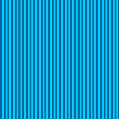 skinny stripes - bright teal and turquoise fabric by weavingmajor on Spoonflower - custom fabric