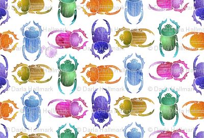 rainbow scarabs
