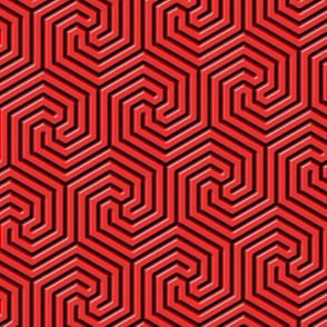 red labyrinthine