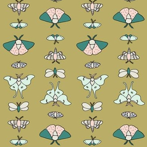 Lepidoptera - Gold // by Sweet Melody Designs