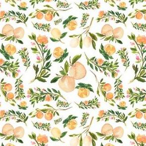 """4"""" Floral Peaches"""