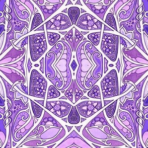 Tangled Purple Garden