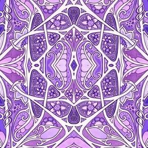 Tangled Purple Garden