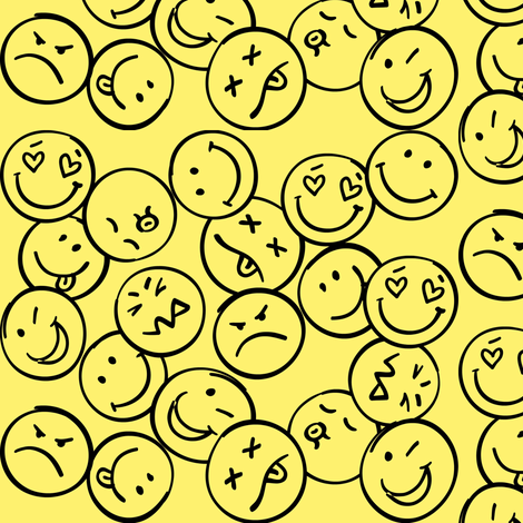 Smile fabric by forthelove on Spoonflower - custom fabric