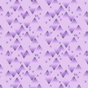Triangle ombré dazzle lav