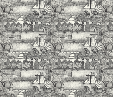 Old_Man_s_Domain_placemats fabric by heather_bird_fabrics on Spoonflower - custom fabric