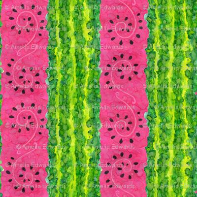 Water(color)melon Stripe