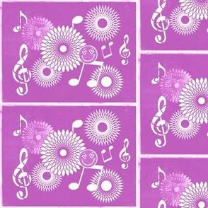 Musical Daze in Monochromatic Lilac - MD38