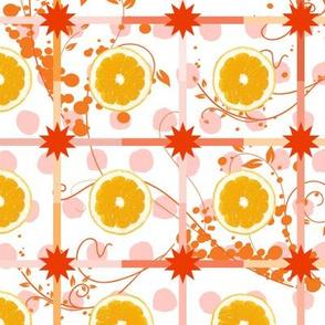 Lemony Watercolor Polka Dot