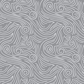 Sweet Swirl - Whisper Gray