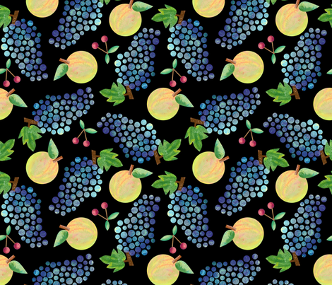 fruit fabric by lilalunis on Spoonflower - custom fabric