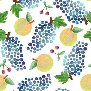 paintet fruit