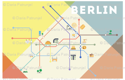 Ubahn map