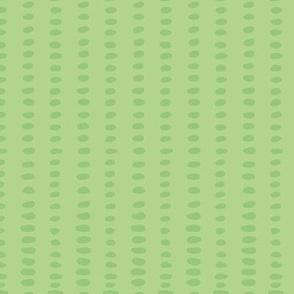 Green Dot / whimsical green dot