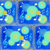 Musical Daze in Yellow and Blue - MD41