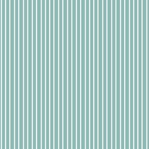 Nautical green aqua white pinstripe stripe  Sailing Ocean Water _ Miss Chiff Designs