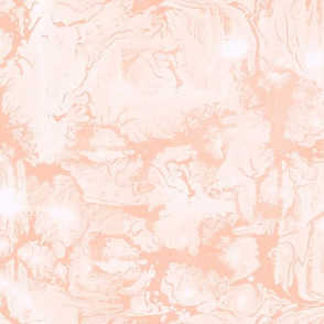Abstract Paint Swirls Soft Peach