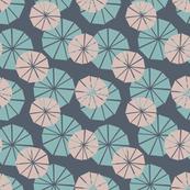 Geometric Palms Pattern