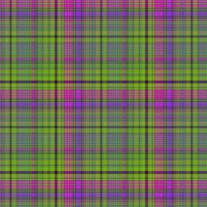 PLAID 1 LAVA LAMP GREEN LIME VIOLET FUCHSIA PINK PSYCHEDELIC FEVER